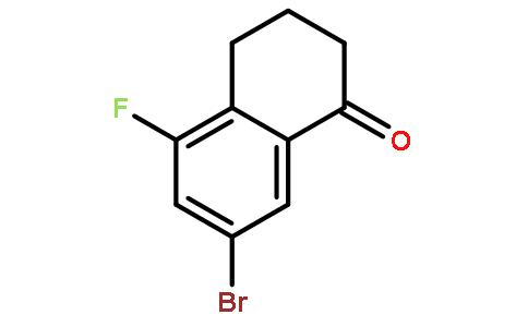 7-溴-5-氟-3,4-二氢萘-1(2H)- 酮