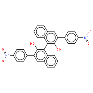 (R)-3,3'-双(4-硝基苯基)-1,1'-联萘酚
